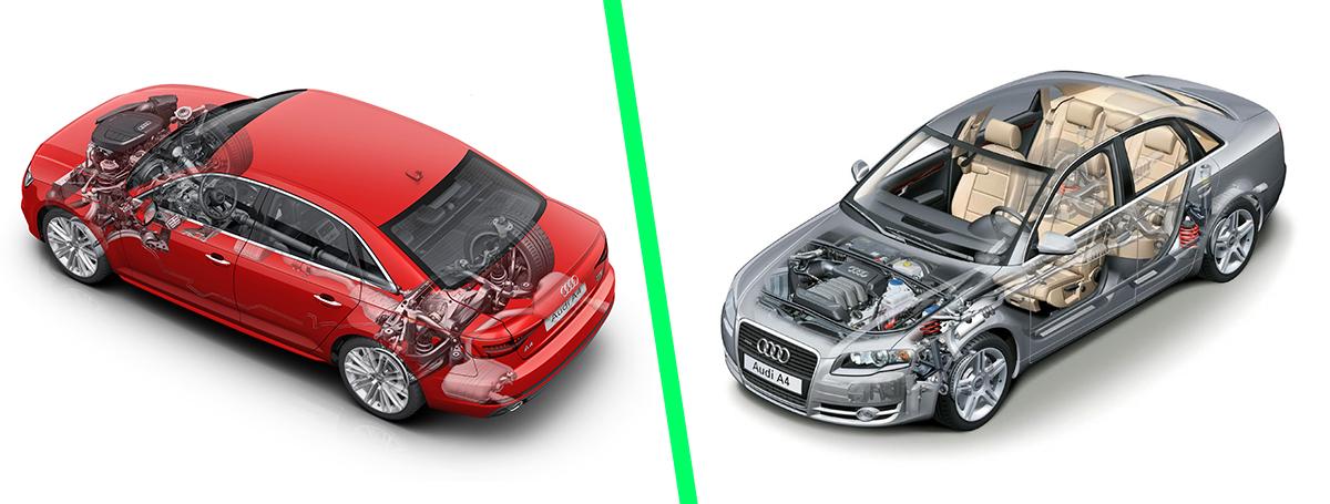 Używane Audi A4 B7 I Nowe Audi A4 B9 Porównanie Blog Carsmile