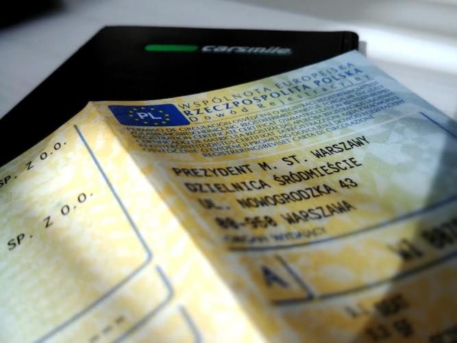 Jazda bez dokumentów? Tak, ale nie wszystkich