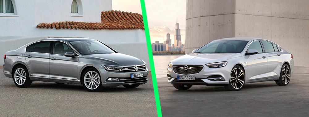 Opel Insignia B vs. Volkswagen Passat B8 - porównanie