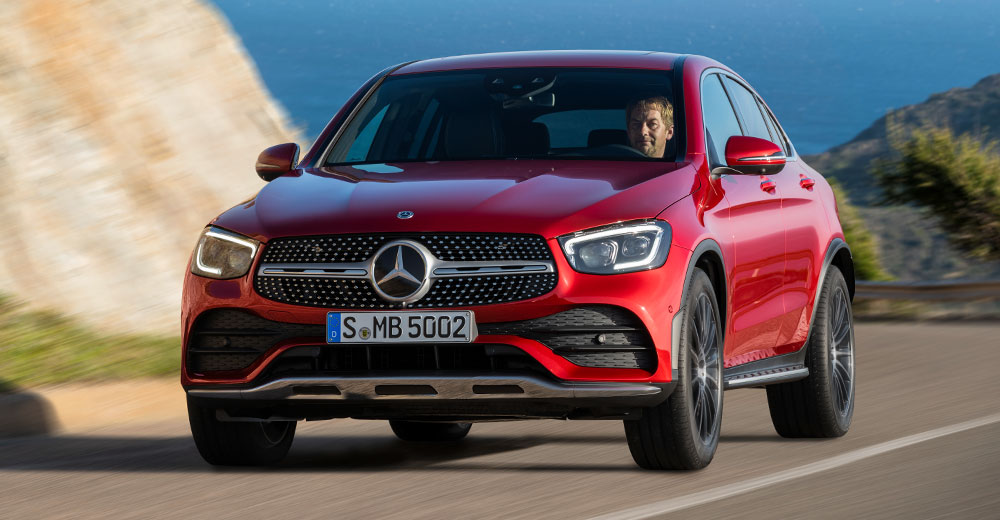 MERCEDES-BENZ Klasa GLC Coupe
