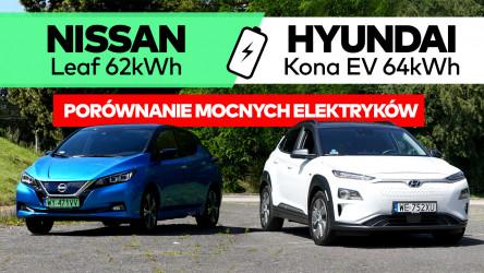 Test video Hyundai Kona vs Nissan Leaf